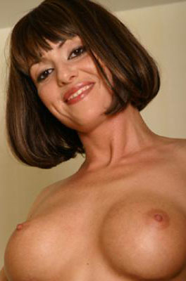 dark haired young milf